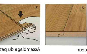 Comment démarrer la pose d'un parquet flottant dans une piece pas d'equerre