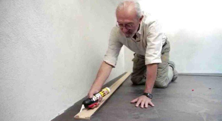Comment coller plinthe