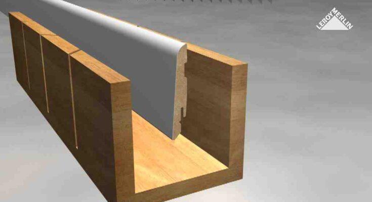 Comment couper plinthe angle