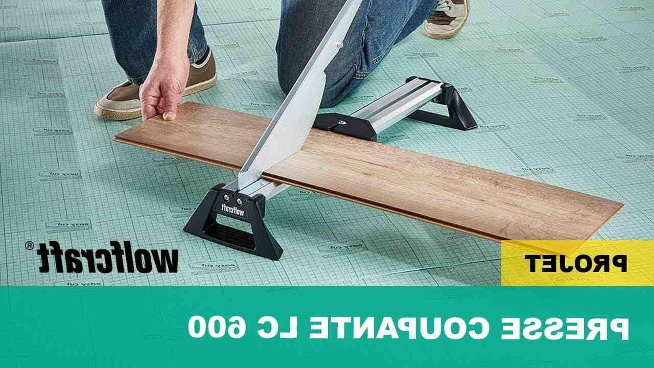 Comment decouper du parquet PVC ?